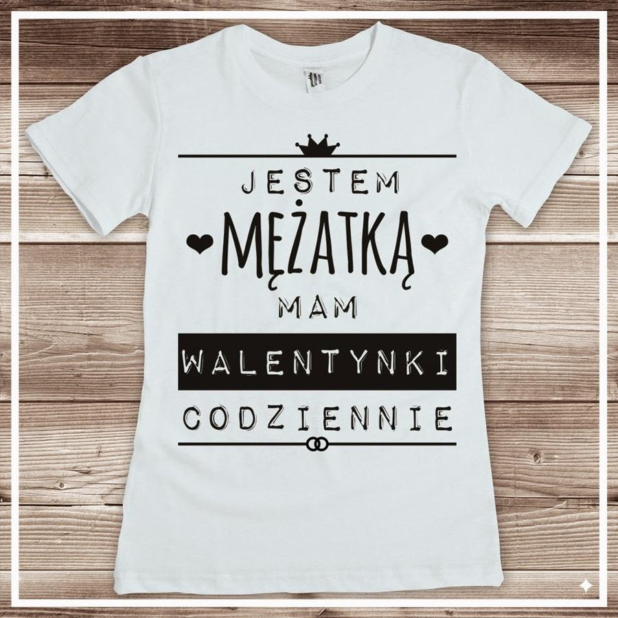 Jestem mężatką, mam Walentynki codziennie - koszulka damska