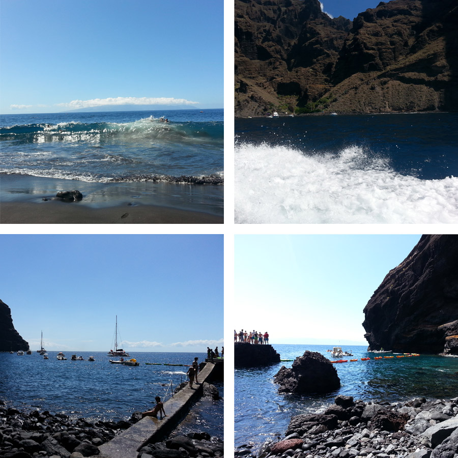 Teneryfa plaża Masca Bay