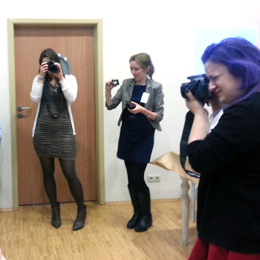 blogerki robią zdjęcia