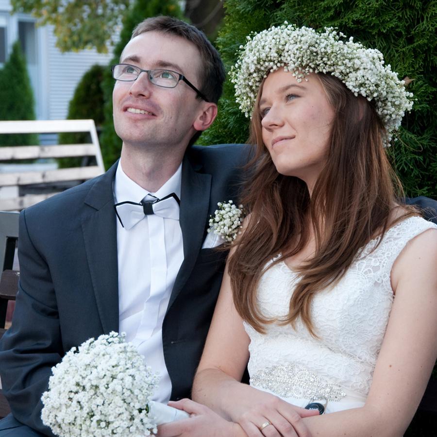Julia iOleh ślubne zdjęcie