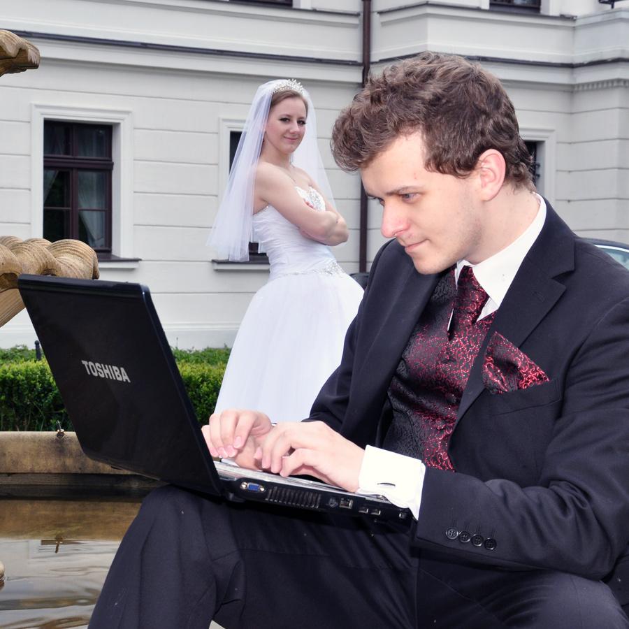 Zakochani wmałżeństwie Ewa iPiotrek