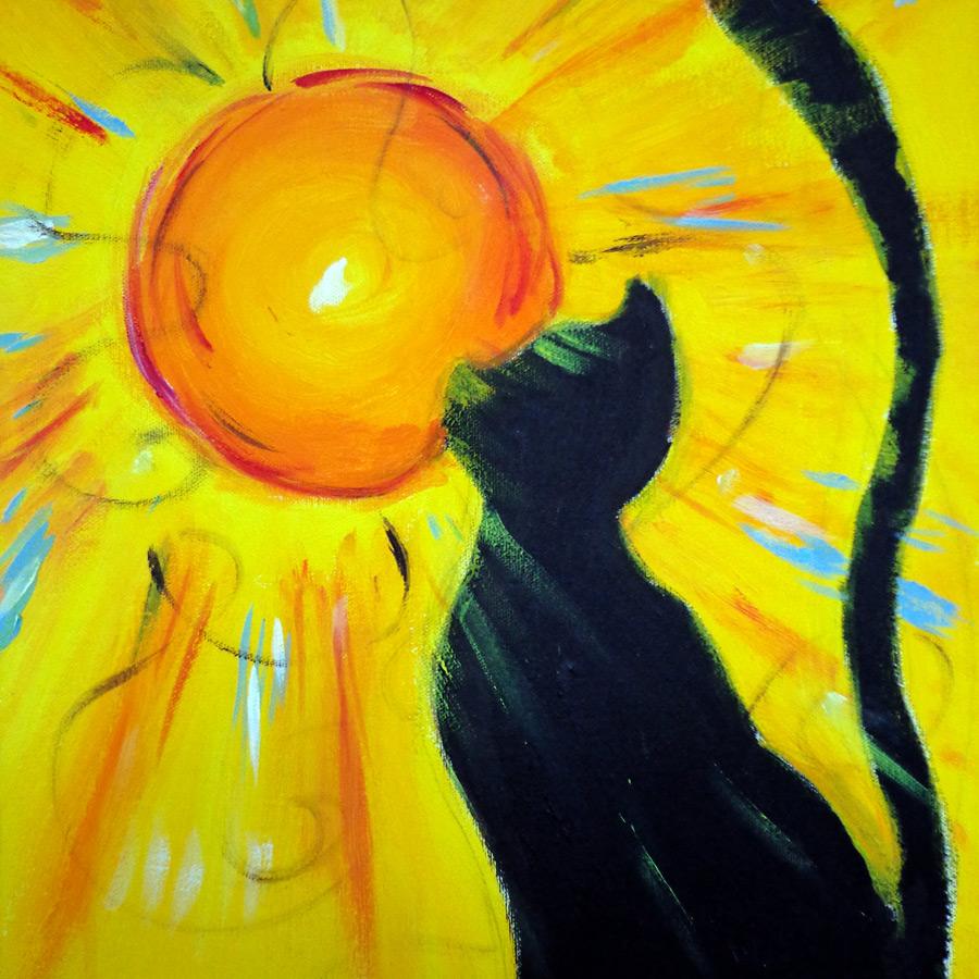 Kot iSłońce - bajka ozakochaniu