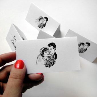 Darmowe winietki weselne – 6 wzorów