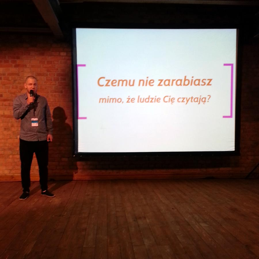 Blog Conference Poznań - pierwsza konferencja - Jan Favre zeStayfly.pl