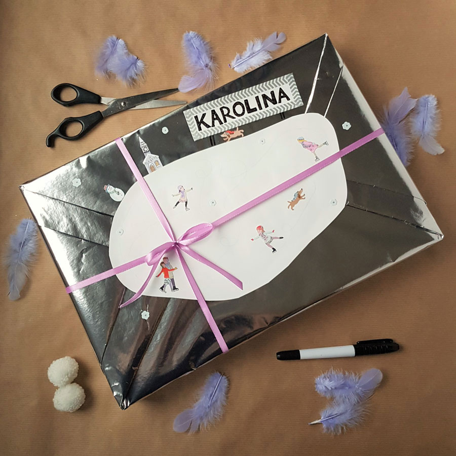 kreatywne pakowanie prezentów