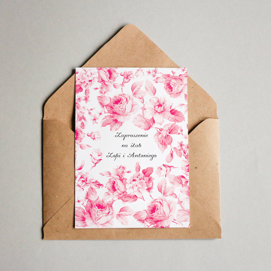 Papeteria ślubna - Mocem - drukarnia Colour.me