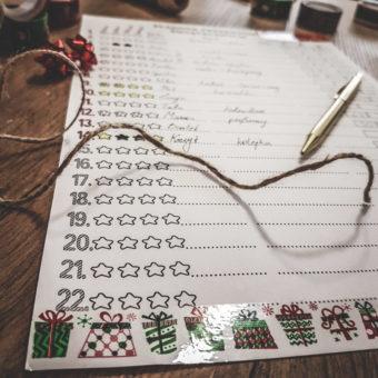 Planner prezentów kupowanych przezinternet – świąteczny iulepszony