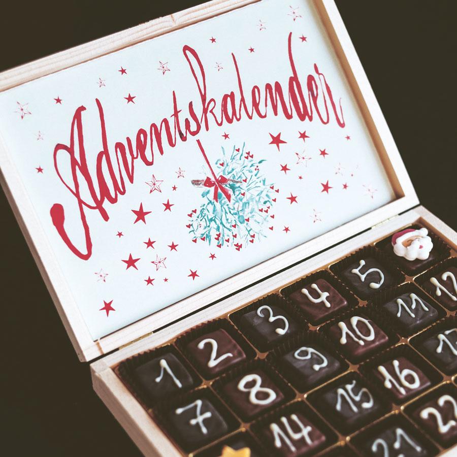 Kalendarz adwentowy dla narzeczonych, par imłodych małżonków