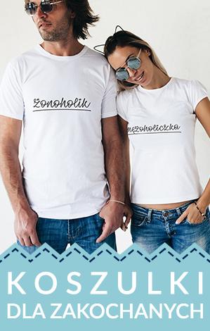 Koszulki dla zakochanych, dla par, dla małżonków, koszulki małżeńskie