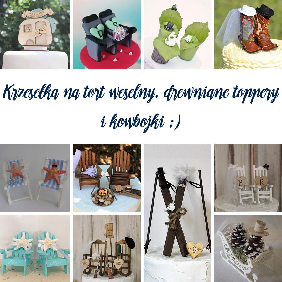 71 pomysłów natoppery weselne - krzesła, szyszki, narty