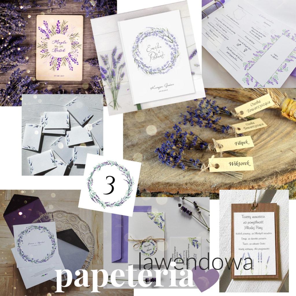 Lawenda jako motyw przewodni wesela - inspiracje ślubne