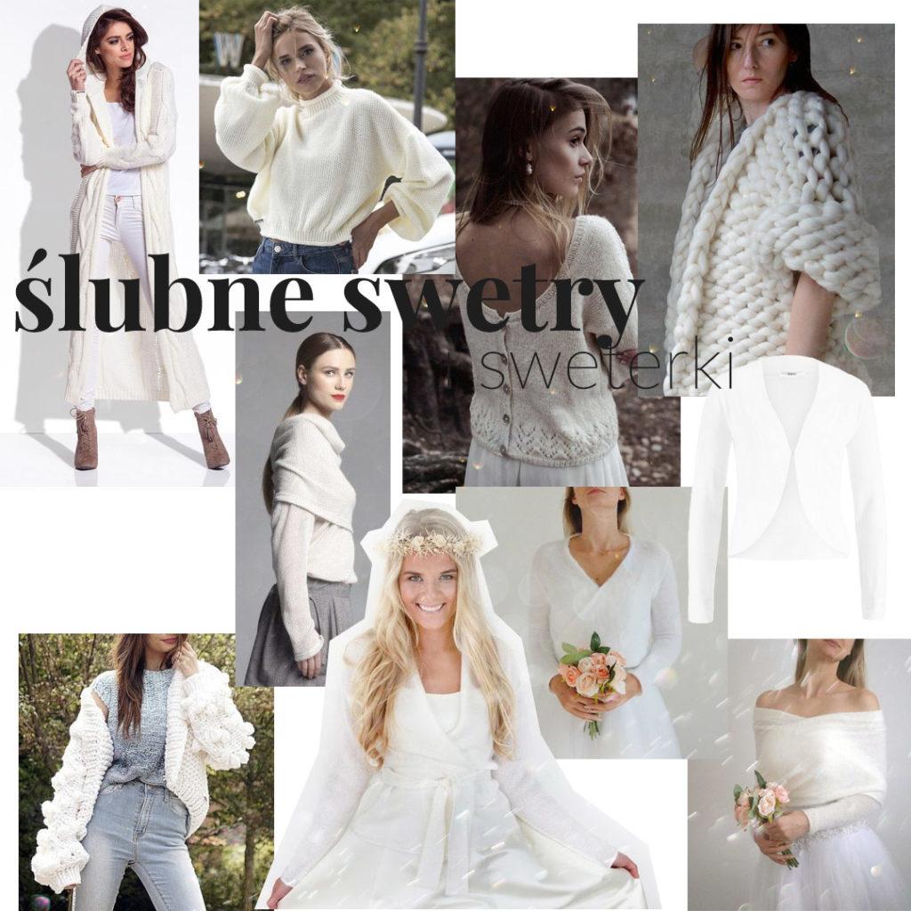 swetry ślubne - okrycia wierzchnie jesienne izimowe - ciepłe 1