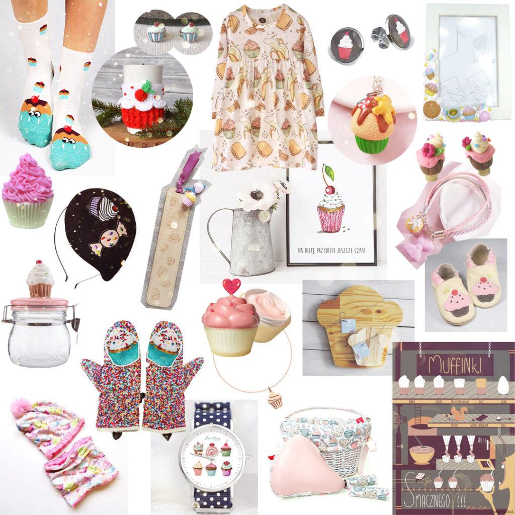 pomysł naprezent - babeczki, muffiny, cupcake's
