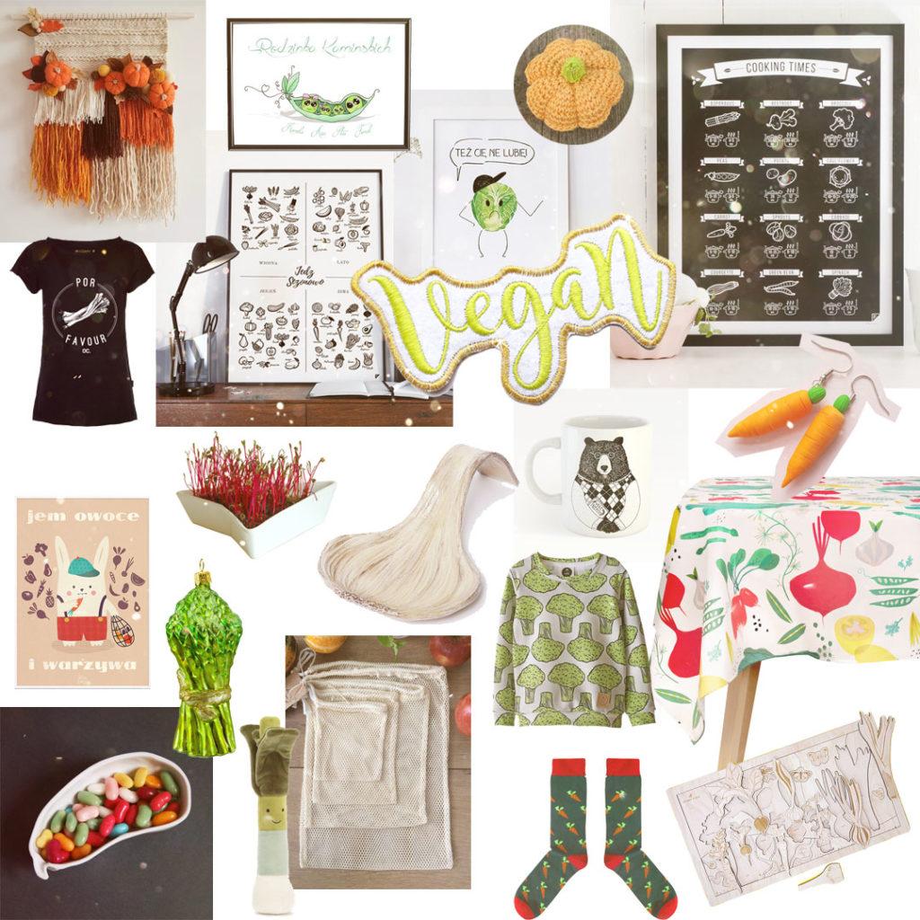 pomysł naprezent dla wegan, wegetarian - warzywa