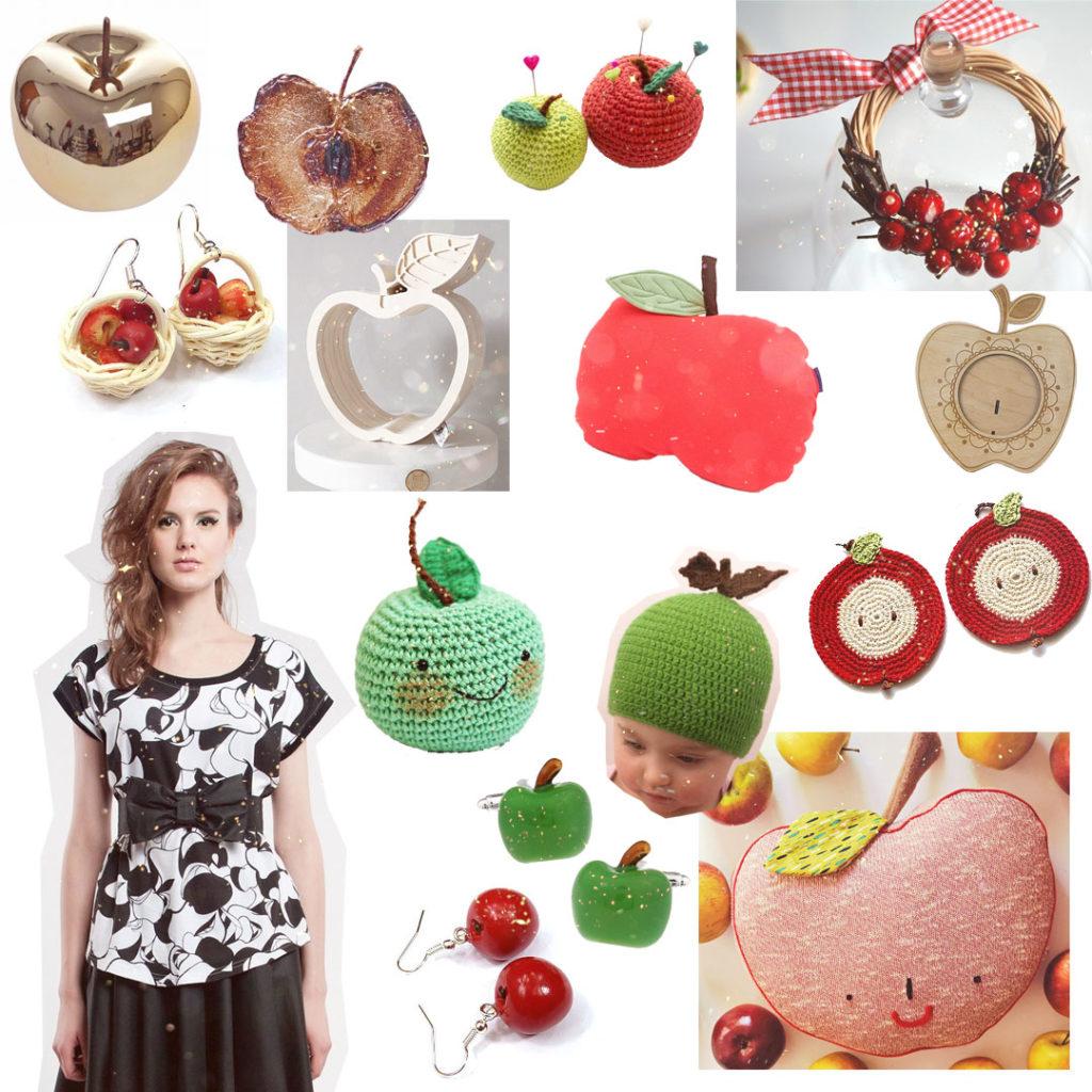 pomysł naprezent jabłkowy - jabłka