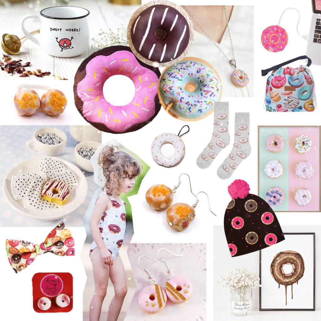 pomysł naprezent - pączki, donuty, dla łasucha