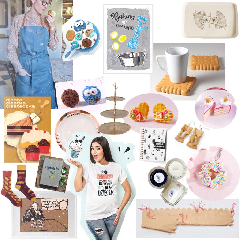 pomysł naprezent cukierniczy - wypieki, ciasta, herbatniki, szarlotka 2