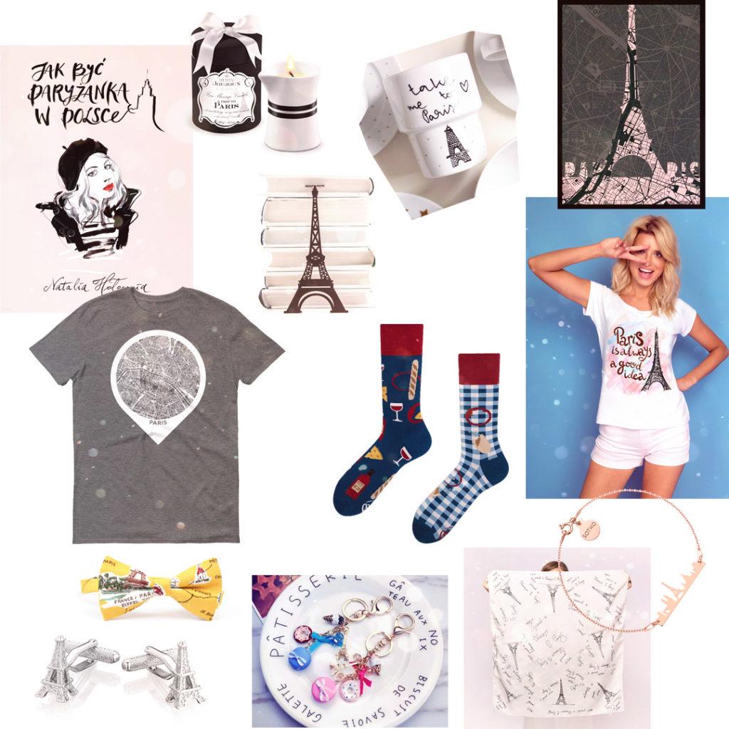 Uniwersalne prezenty personalizowane - Paryż - Francja