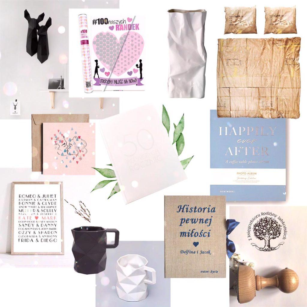 1 rocznica ślubu - papierowe gody - prezenty