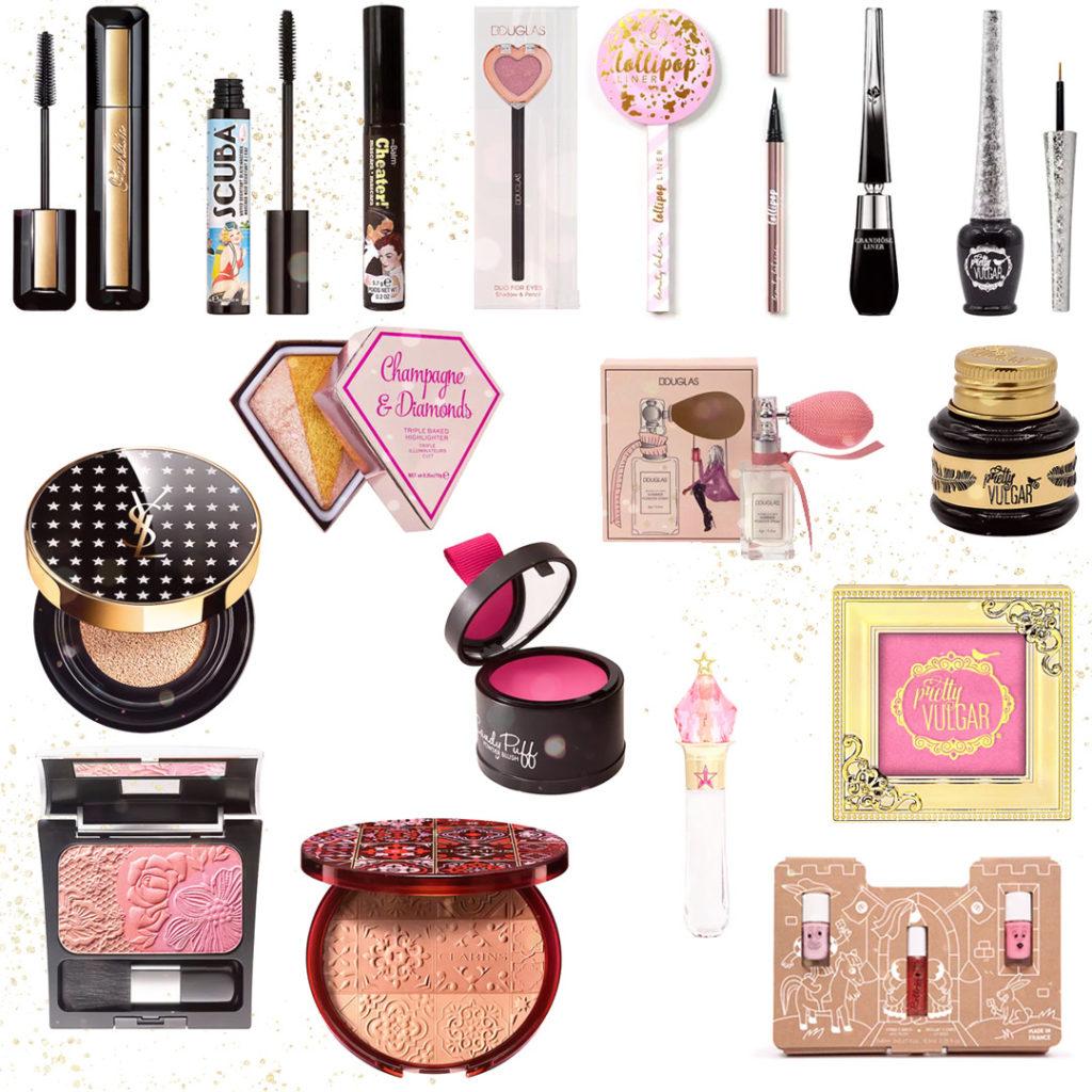 Piękne kosmetyki naprezent dla nastolatki idorosłej kobiety - domakijażu
