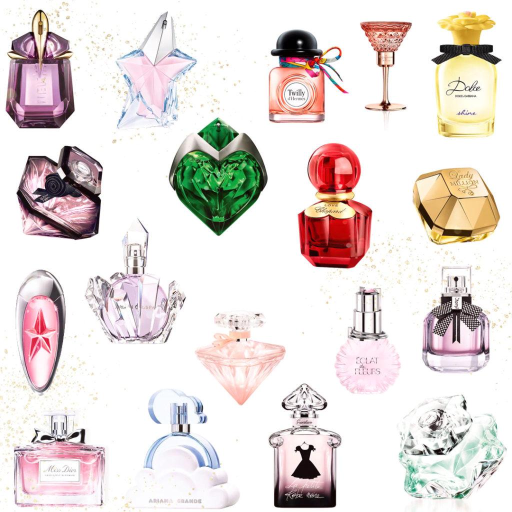 Piękne kosmetyki naprezent dla nastolatki idorosłej kobiety - perfumy