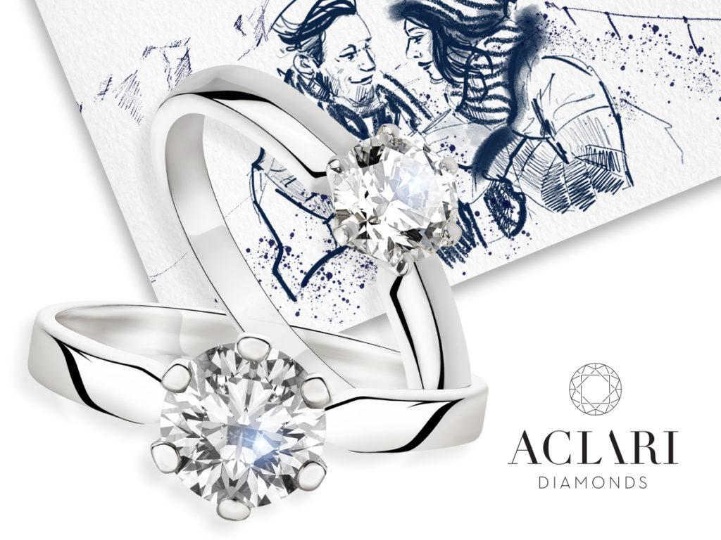 Idealny pierścionek zaręczynowy odAclari Diamonds